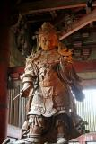 Giant wood statue, Nara, Japan
