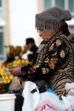 On the market, Samarkand, Uzbekistan.