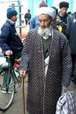 A traditional robe, Chakrysab open market, Uzbekistan