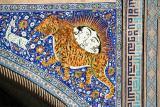 Registan (detail), Samarkand, Uzbekistan