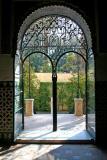 Door and Garden, Sevilla, Spain