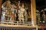 Wood statues