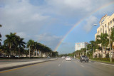 Rainbow on the way to work