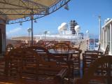 Noordam observation deck at sea