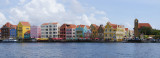 Panorama of Willemstad, Curacao
