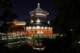China temple reflecting