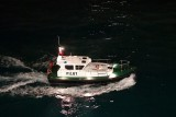 Aruban pilotboat following along