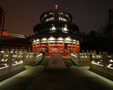 China temple close