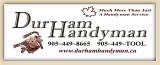 2009 14U Red Girls Sponsor - Durham Handyman