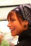 Lindsay Gosse after a teambuilding scavenger hunt - Provincials 2009