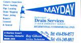 2010-2011 Girls 16U Black sponsor - Mayday Drain