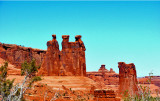 Courthouse Towers, Three Gossips, and Sheep Rock.jpg
