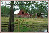 Barn and farm.