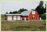 Red barn, looking good.