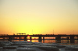 Sunset at Montreal-East