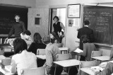 Mr. Trivitt's History Class (Roy Colver and Pete Nagora, standing)