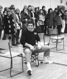 SCS Sports Day Trike Race - Mr. Misner (History teacher)