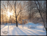 Another winter sunrise