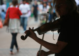 July 10 2009: Playing to the Street