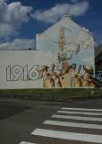 June 25 2010: The Great War Mural at Albert