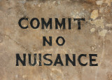 September 22 2010: Commit No Nuisance