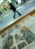 November 1 2010: Walking Past Cezanne