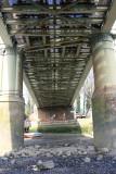 Low tide under the bridge