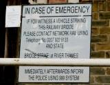 Bridge striking vehicles beware