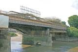 Renovation of the bridge.