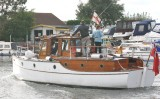 Papilion a Dunkirk small boat.