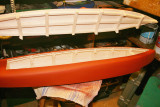 9. Deck cut out ready to fit internals.
