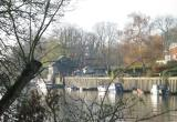 Eel Pie Island, moorings.