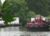 Gu-Jo moored on Isleworth Ait.