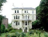 Large house near Richmond railway bridge.