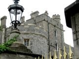 Castle ramparts.
