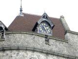 Castle clock.