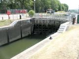 Main lock gate, top end.