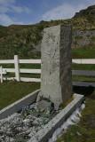 Sir Shackleton grave
