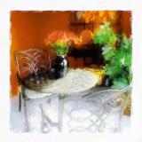 Table on the Lanai