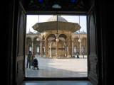 view from Mosque of Muhammad Ali