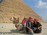 Gene and Vera at the Pyramids