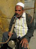 morning hookah (water pipe)