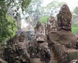 outside Angkor's gate