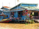 Tonle Sap Lake/floating village