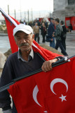 Turkish flags