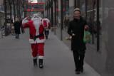 Santa Shops The Rock !