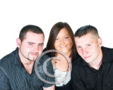 Ashley, Chris and James