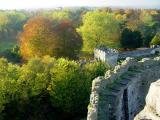 Bute Park from Cardiff Castle Ramparts