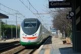 EuroStar passing thru Cattolica, Italy