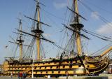 HMS Victory (Admiral Nelson, Battle of Trafalgar)